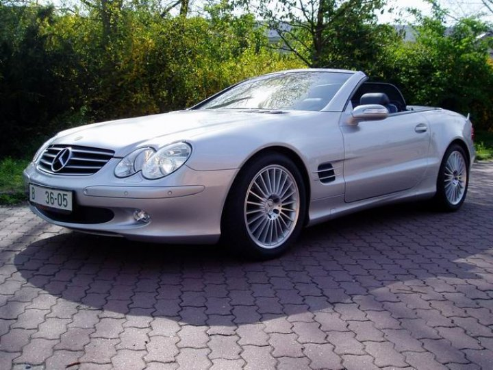 Mercedes Benz SL 350 - 1