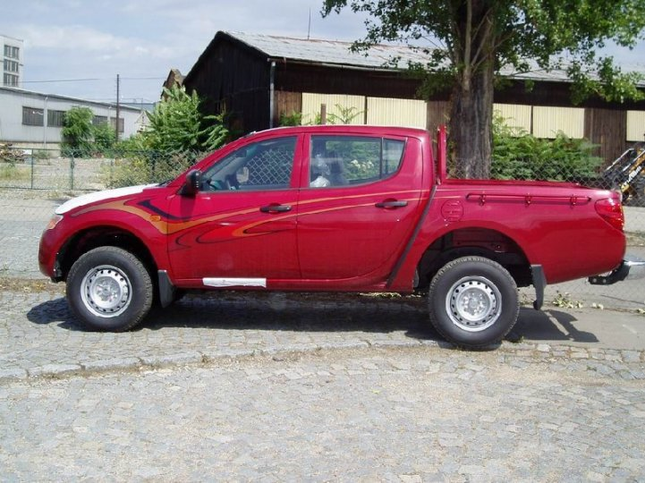 Mitsubishi L200 2.5did- double cab - 2