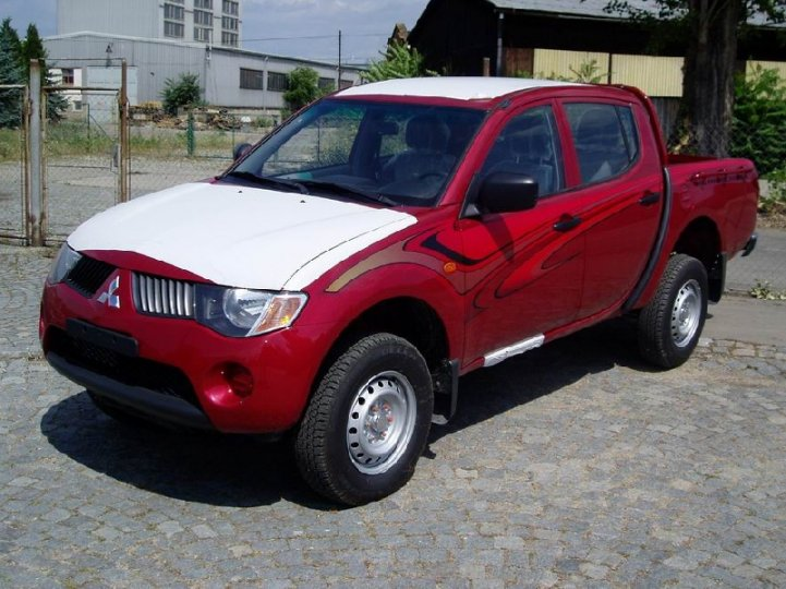 Mitsubishi L200 2.5did- double cab - 1