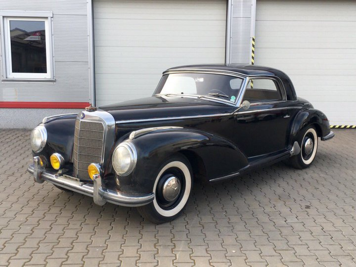 Mercedes Benz 300 S coupe - 5